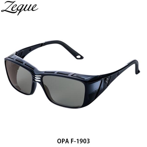 送料無料 ゼクー Zeque 偏光サングラス 偏光グラス OPA オーパ F-1903 CLEAR GRAY TRUEVIEW 釣り フィッシング ジールオプティクス ZEAL OPTICS GLE4580274168591
