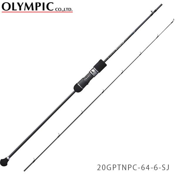 送料無料 オリムピック ロッド 竿 プロトン・プロトタイプ 1ピース スロージギング ベイトキャスティングモデル 20GPTNPC-64-6-SJ PROTONE PROTOTYPE OLYMPIC OLY4571105693412
