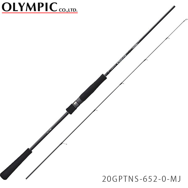 送料無料 オリムピック ロッド 竿 20プロトン マイクロジギングモデル 2ピース スーパーライトジギング スピニングモデル 20GPTNS-652-0-MJ PROTONE OLYMPIC OLY4571105693559