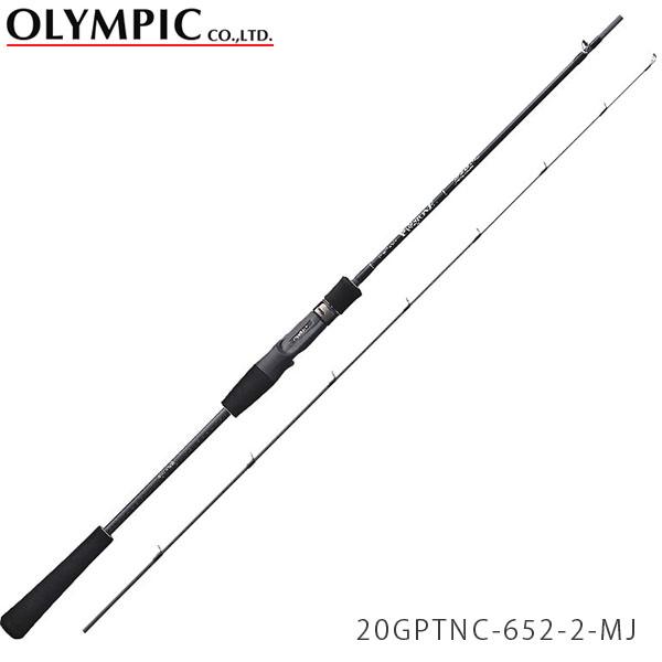 送料無料 オリムピック ロッド 竿 20プロトン マイクロジギングモデル 2ピース スーパーライトジギング ベイトキャスティングモデル 20GPTNC-652-2-MJ PROTONE OLYMPIC OLY4571105693597