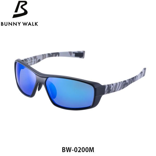 送料無料 BUNNY WALK 偏光サングラス バニーウォーク BW-0200M フレーム ブラック×グレーカモ レンズ GRAY-BM アウトドア スポーツ 偏光グラス 釣り フィッシング ジールオプティクス ZEAL OPTICS GLE4580274171171