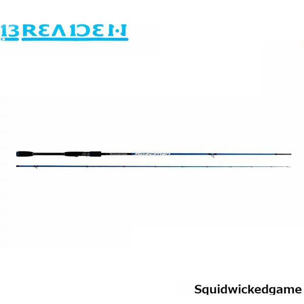 """送料無料 ブリーデン BREADEN ロッド スクイッドウィケッドゲーム スペイシメン 88スウィングトップ トルザイティー Squidwickedgame SWG-SPECIMEN88swingtop """"TORZITY"""" BRI4571136851539"""