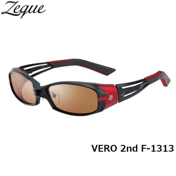 送料無料 Zeque ゼクー ジールオプティクス ZEAL OPTICS 偏光サングラス VERO 2nd ヴェロセカンド F-1313 マットブラック×レッド ラスターオレンジ×シルバーミラー グレンフィールド GLE4580274164142 釣り フィッシング アウトドア 偏光グラス 偏光レンズ