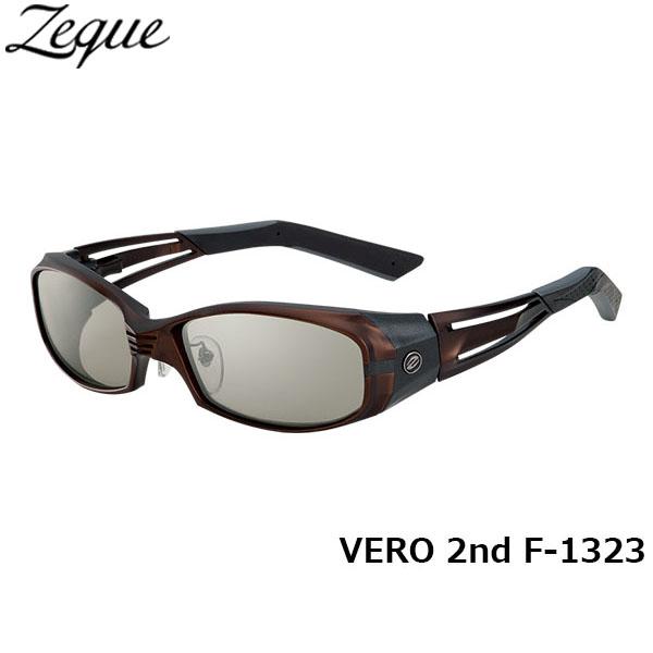 ジールオプティクス ZEAL OPTICS 偏光サングラス VERO 2nd ヴェロセカンド F-1323 ブラウン×マットガンメタル トゥルービュースポーツ×シルバーミラー グレンフィールド GLE4580274166177 釣り フィッシング アウトドア メンズ レディース 偏光グラス 偏光レンズ