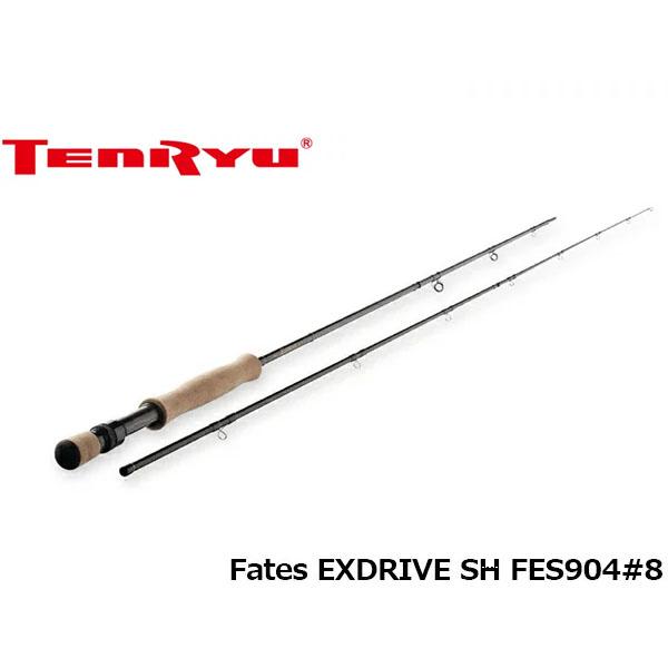 送料無料 天龍 テンリュウ ロッド 竿 フライ フェイテス エクスドライブ シングルハンド FLY Fates EXDRIVE SH FES904#8 4ピース TENRYU TEN019598