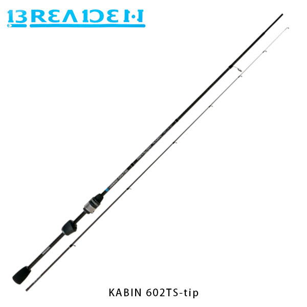 送料無料 ブリーデン BREADEN アジングロッド GlamourRockFish KABIN 602TS-tip チタンソリッドティップモデル BRI4571136851782