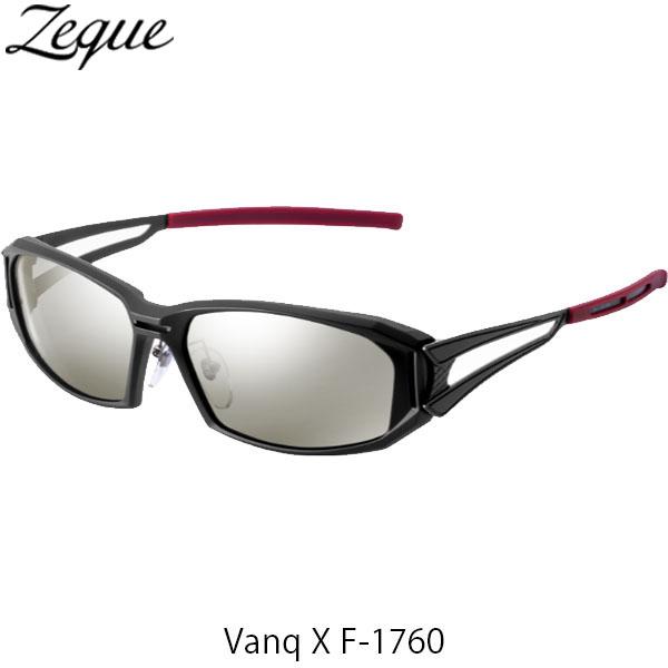 送料無料 Zeque ゼクー ジールオプティクス 偏光サングラス ヴァンク エックス VanqX F-1760 マットブラック トゥルービュースポーツ×シルバーミラー 釣り フィッシング アウトドア 偏光グラス 偏光レンズ ZEAL OPTICS GLE4580274167389