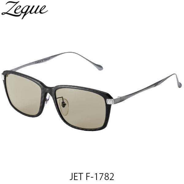 送料無料 Zeque ゼクー ジールオプティクス 偏光サングラス ジェット JET F-1782 ブラック×シルバー ライトスポーツ 釣り フィッシング アウトドア 偏光グラス 偏光レンズ ZEAL OPTICS GLE4580274167518
