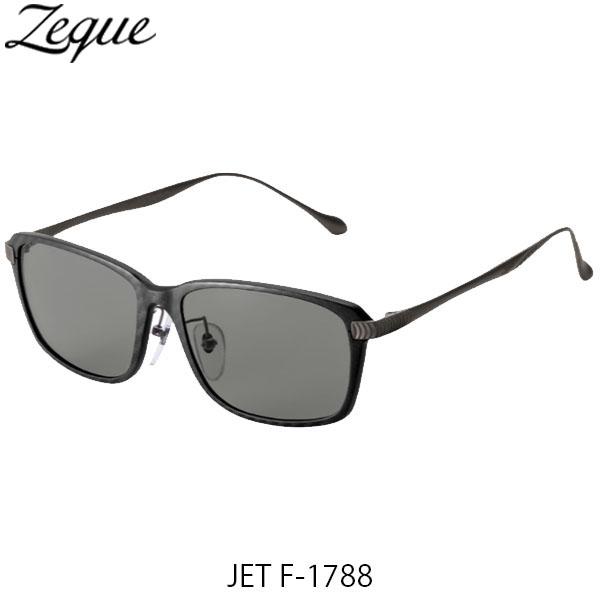 送料無料 Zeque ゼクー ジールオプティクス 偏光サングラス ジェット JET F-1788 ブラック&レッド×ガンメタル トゥルービュー 釣り フィッシング アウトドア 偏光グラス 偏光レンズ ZEAL OPTICS GLE4580274167570