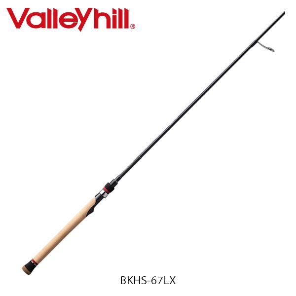 送料無料 バレーヒル バスロッド ブラックスケールXP BKHS-67LX ビッグベイト パワーゲーム専用ロッド 釣り フィッシング Valleyhill VAL826400