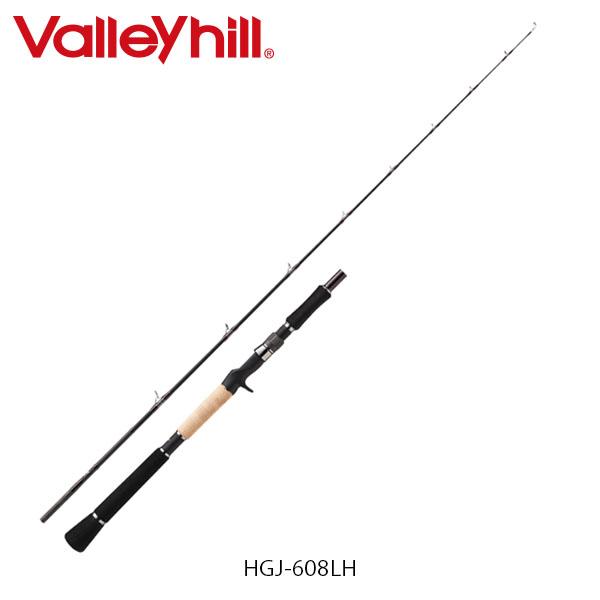 送料無料 バレーヒル 雷魚ロッド ヘッドガンナー J-バージョン HGJ-608LH 釣り フィッシング Valleyhill VAL826493