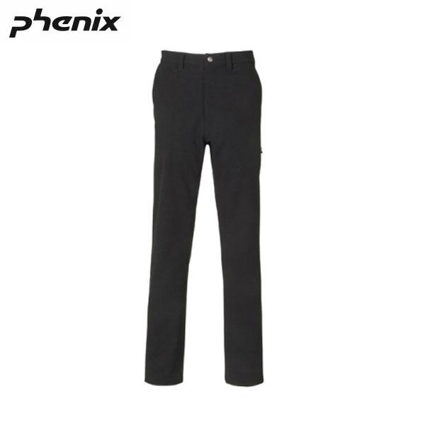送料無料 PHENIX フェニックス GEARHOLIC メンズ パンツ NOVEL CHINO PANTS BLACK PH552PA22BK-S