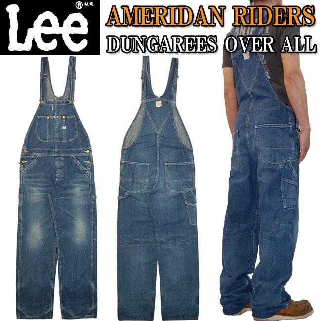 大寸・ビッグサイズ・大きいサイズ【送料無料】Lee(リー)AMERICAN RIDERS アメリカンライダースLee大定番の名作ワークテイストシリーズオーバーオール LM4254-946