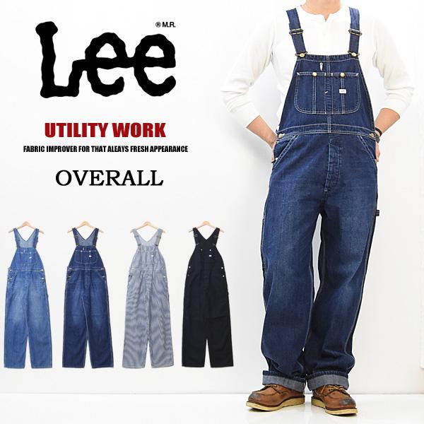 大きいサイズ Lee リー ダンガリーズ オーバーオール 定番 メンズ デニム ジーンズ DUNGAREES 送料無料 LM7254