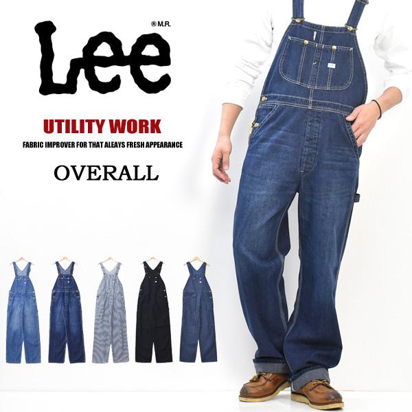 Lee定番人気のオーバーオール Lee リー 購入 ダンガリーズ オーバーオール 日本製 定番 評価 デニム メンズ 送料無料 DUNGAREES LM7254 ジーンズ