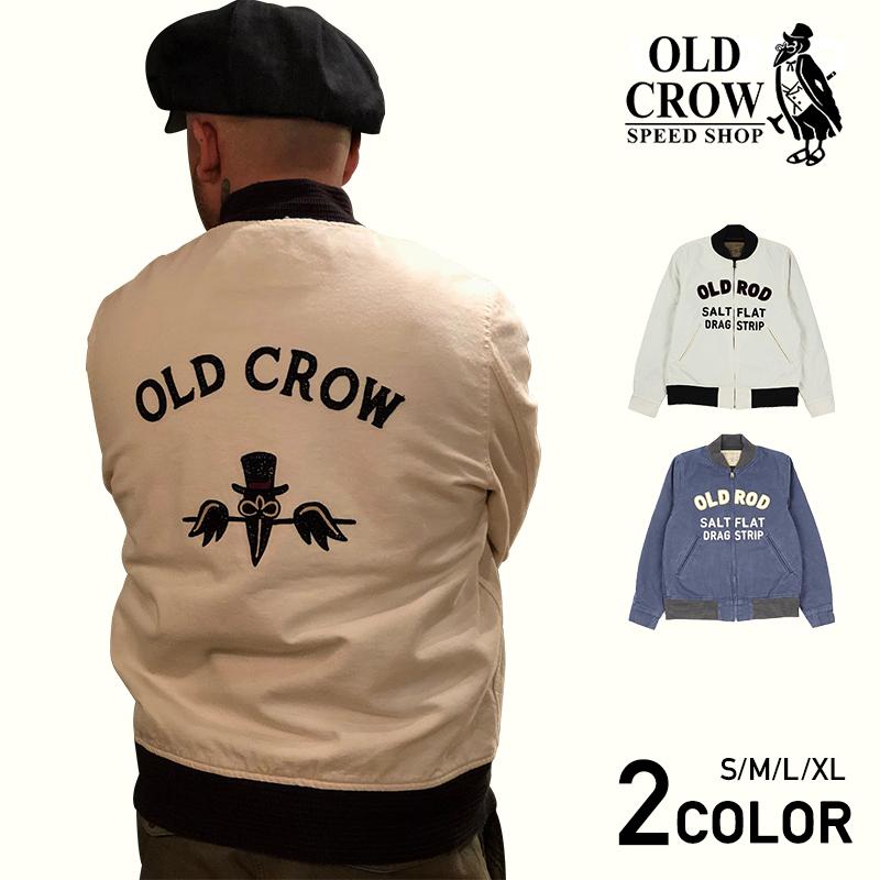 【残りSサイズのみ】OLD CROW OLD ROD - JACKET オールドクロウ ジャケット/GLADHAND/グラッドハンド/GANGSTERVILLE/ギャングスタービル/WEIRDO/ウィアード