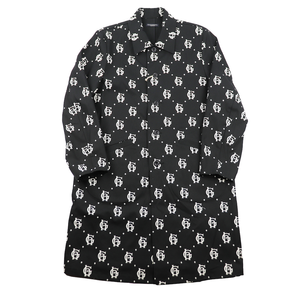 【残りM・Lサイズのみ】グラッドハンド 10周年 コート メンズ ファミリークレスト GLAD HAND & Co. FAMILY CREST - COAT GANGSTERVILLE ギャングスタービル WEIRDO ウィアード OLD CROW オールドクロウ