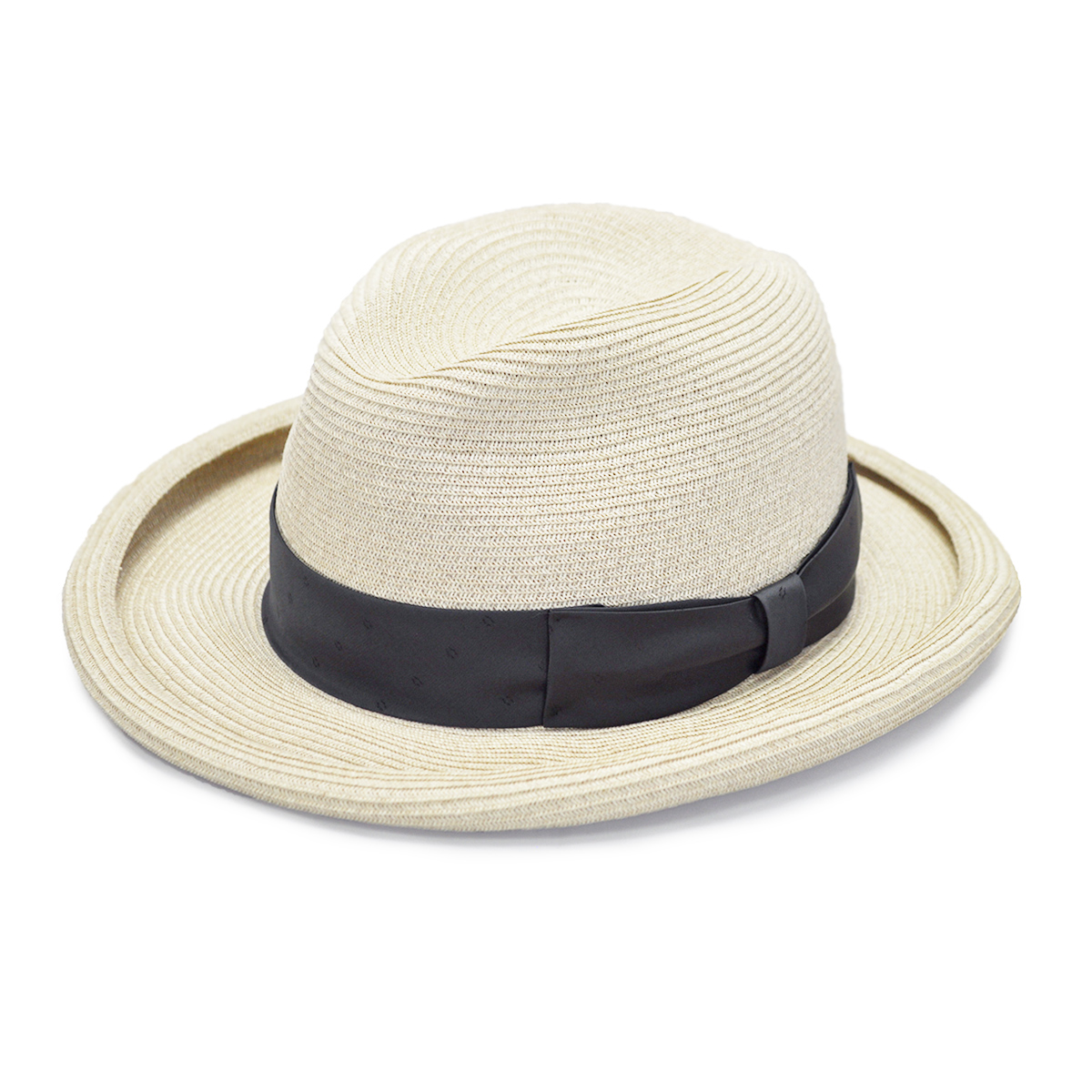 【残りMサイズのみ】GANGSTERVILLE HOMBURG - HAT (NATURAL) ギャングスタービル ストローハット/麦わら帽子/GLADHAND【WEIRDO/ウィアード/OLD CROW/オールドクロウ】
