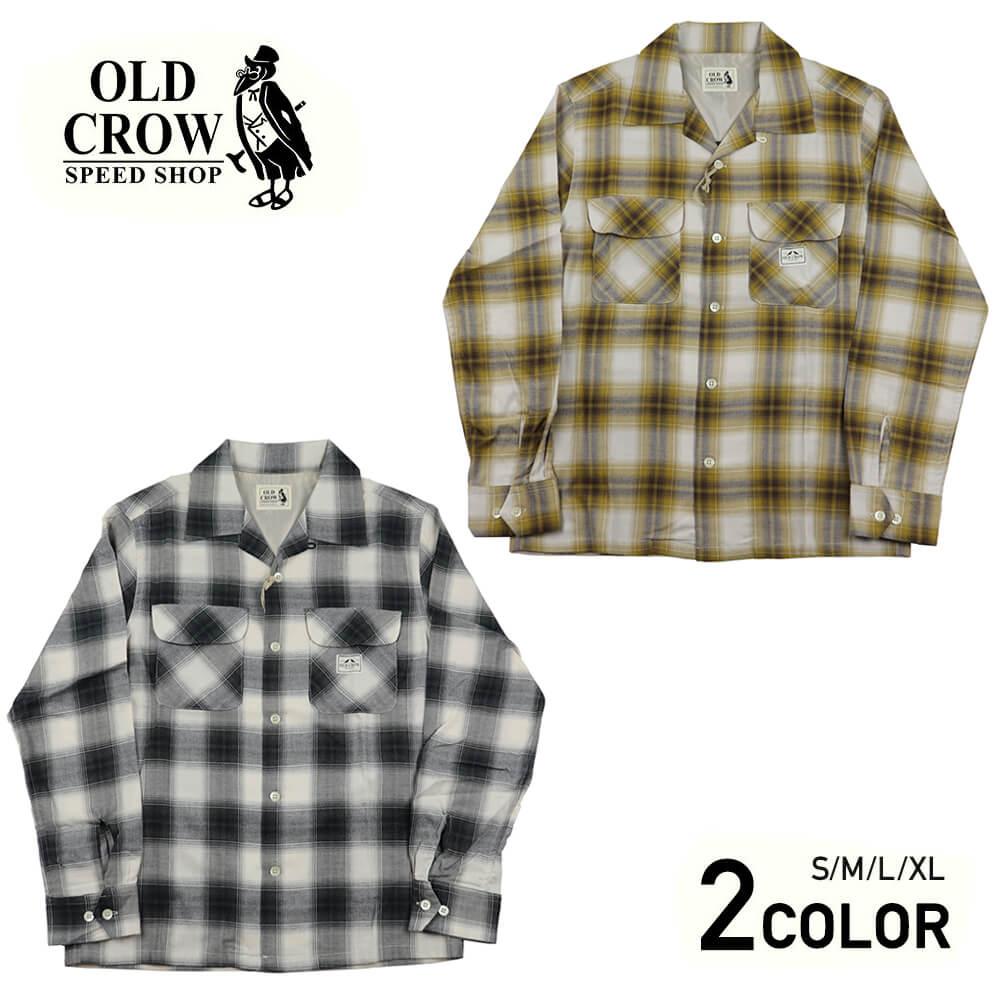 オールドクロウ チェック 長袖シャツ メンズ OLD CROW RODDER CHECK - L/S SHIRTS GLADHAND グラッドハンド GANGSTERVILLE ギャングスタービル WEIRDO ウィアード