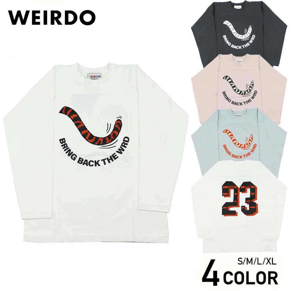 ウィアード フットボール Tシャツ スウェット メンズ WEIRDO RINGING TIGER - FOOTBALL T-SHIRTS GLADHAND グラッドハンド GANGSTERVILLE ギャングスタービル OLD CROW オールドクロウ
