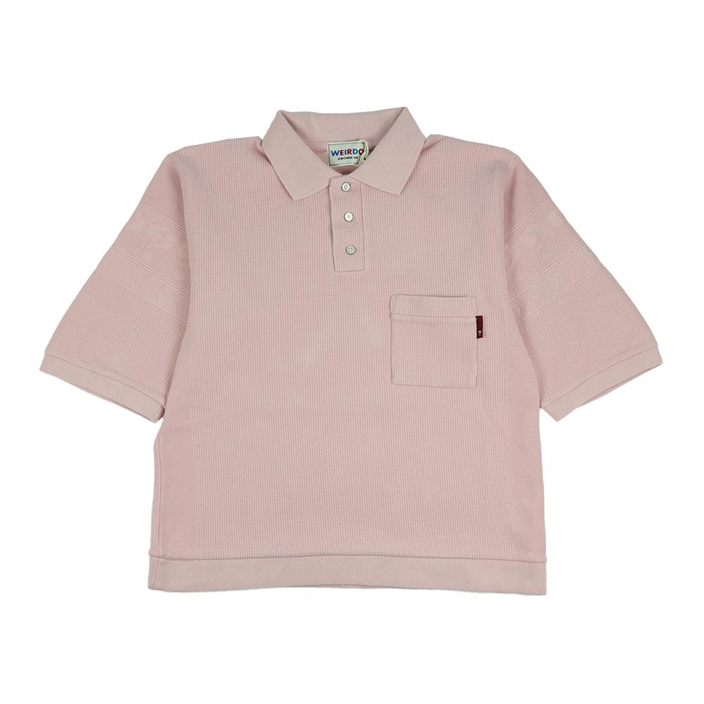 【残りSサイズのみ】ウィアード 半袖ポロシャツ メンズ WEIRDO WHO? - S/S POLO SHIRTS GLADHAND/グラッドハンド/GANGSTERVILLE/ギャングスタービル/OLD CROW/オールドクロウ