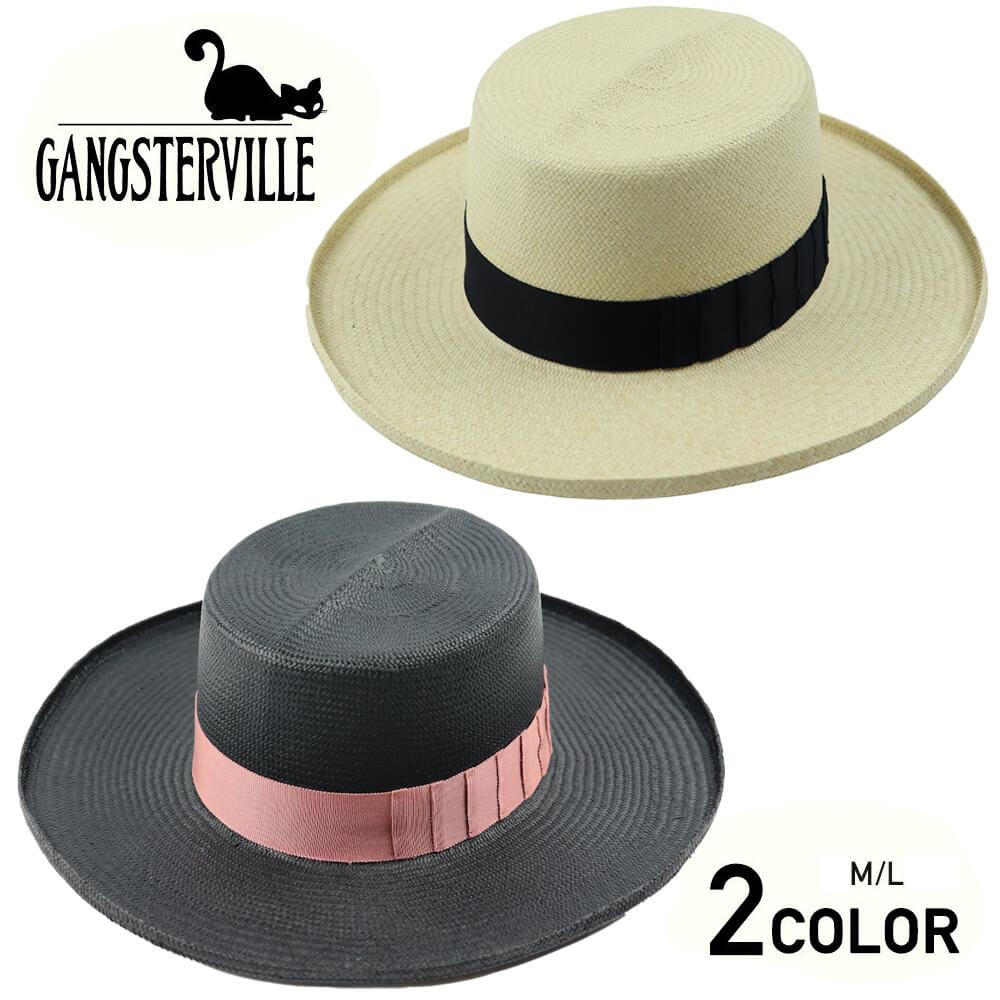 ギャングスタービル パナマハット 麦わら帽子 メンズ GANGSTERVILLE JACK- HAT GLADHAND グラッドハンド WEIRDO ウィアード OLD CROW オールドクロウ