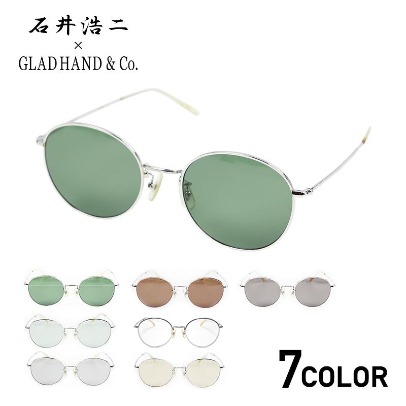 グラッドハンド ジェームスグラス メンズ サングラス 眼鏡 メガネ めがね GLADHAND × 石井浩二 JAMES - GLASSES GANGSTERVILLE ギャングスタービル WEIRDO ウィアード OLD CROW オールドクロウ