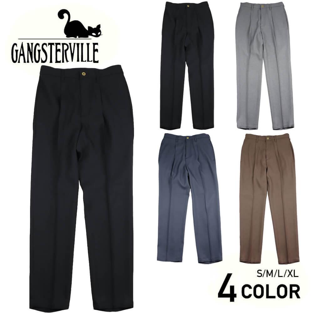 ギャングスタービル スラックス パンツ メンズ GANGSTERVILLE REBEL - PANTS GLADHAND グラッドハンド WEIRDO ウィアード OLD CROW オールドクロウ