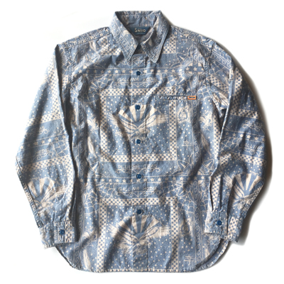 SNOID Tuttle Blue Chambrayスノイド シャンブレーシャツ
