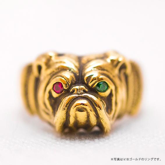 PEANUTS & CO. Bull Ring (GOLD K18) ピーナッツカンパニー ブルドッグ リング ゴールド18金