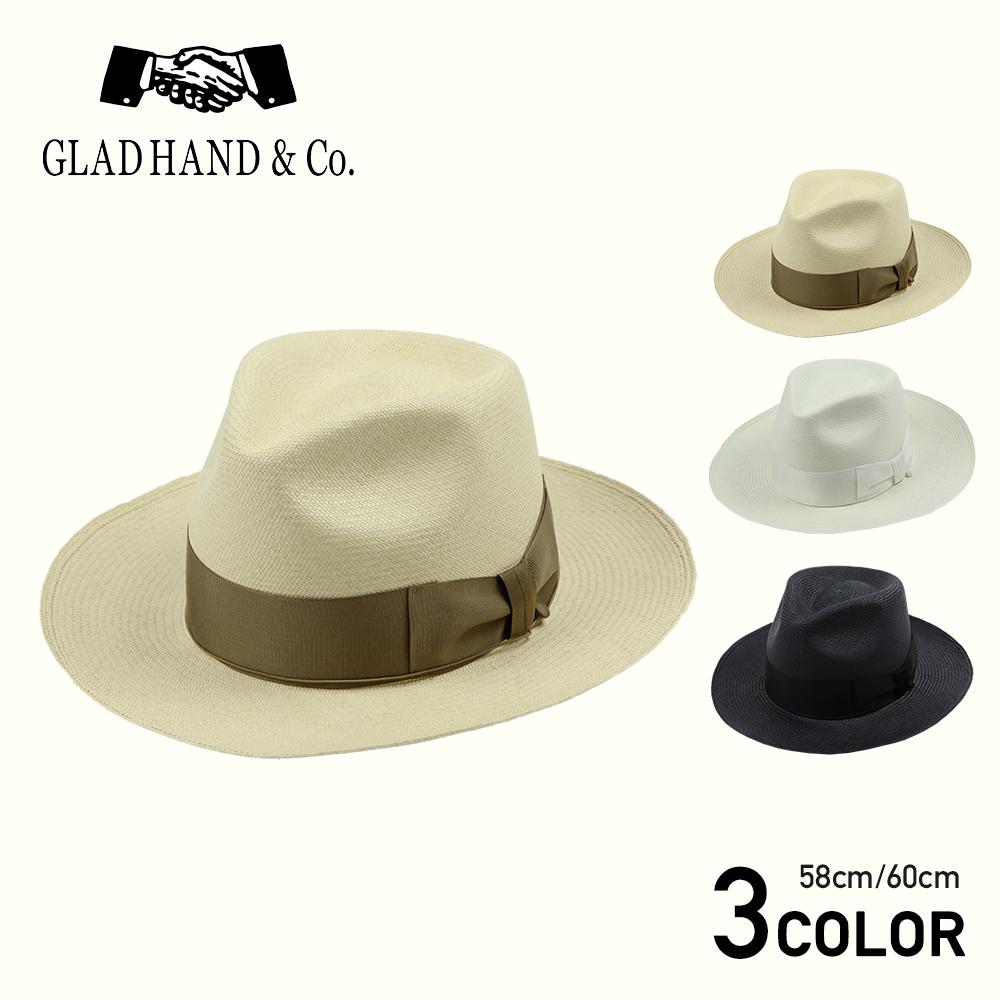 GLAD HAND & Co. - HAT MEDALLION グラッドハンド パナマ ハット/GANGSTERVILLE/ギャングスタービル/WEIRDO/ウィアード/OLD CROW/オールドクロウ