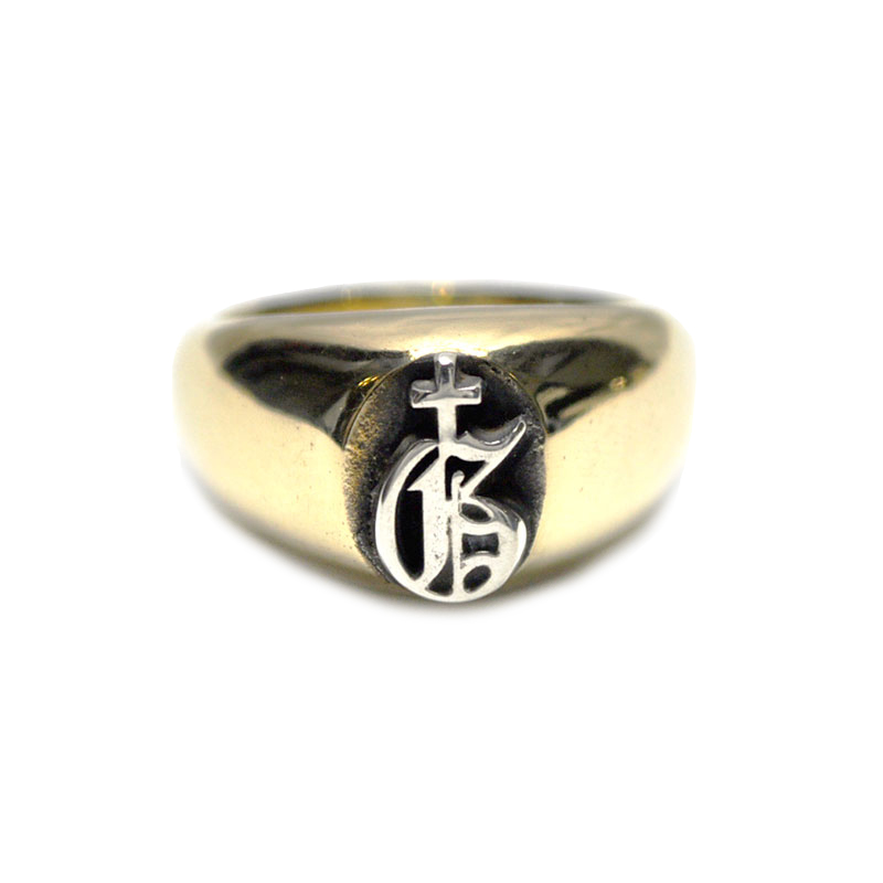GANGSTERVILLE x galcia 1 POINT RING