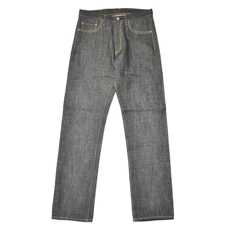 5 WHISTLE DENIM PANTS (BLACK) ファイブホイッスル 5ポケット デニムパンツ【NORTH NO NAME/ノースノーネーム】