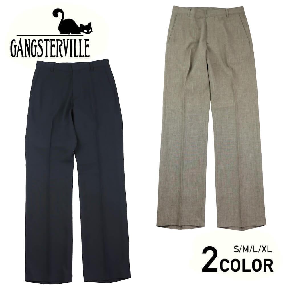 ギャングスタービル スラックス パンツ メンズ GANGSTERVILLE THUG - SLACKS GLADHAND グラッドハンド WEIRDO ウィアード OLD CROW オールドクロウ