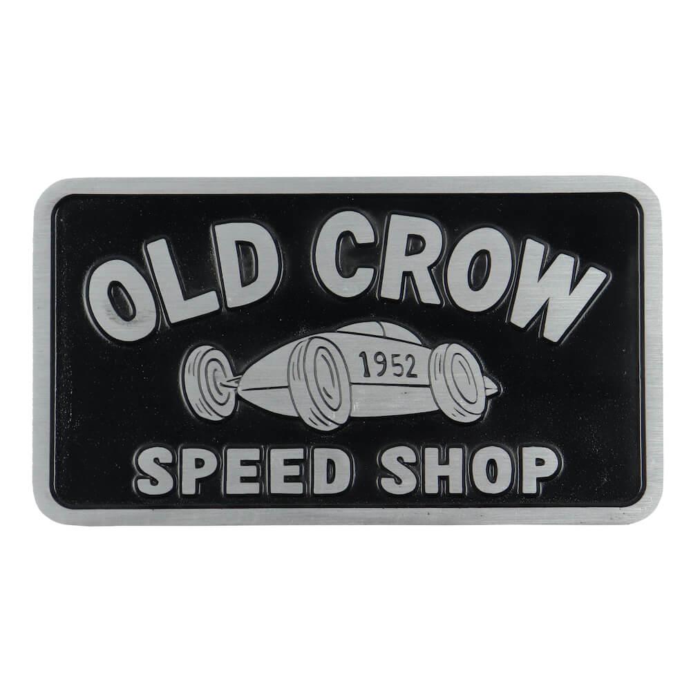 オールドクロウ プラーク OLD CROW CROW RACER - PLAQUE (CROW RACER) GLADHAND グラッドハンド GANGSTERVILLE ギャングスタービル WEIRDO ウィアード