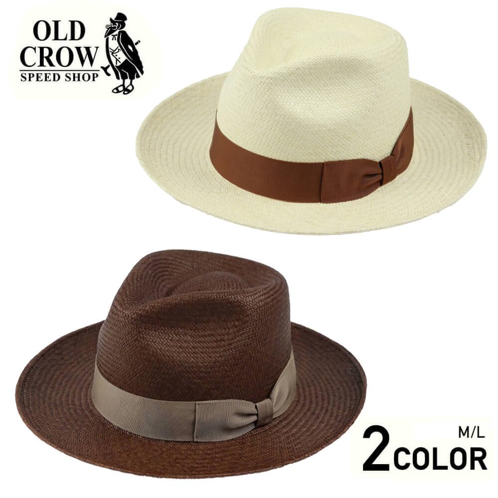 オールドクロウ パナマハット 麦わら帽子 メンズ OLD CROW OLD RODDER - HAT GLADHAND グラッドハンド GANGSTERVILLE ギャングスタービル WEIRDO ウィアード