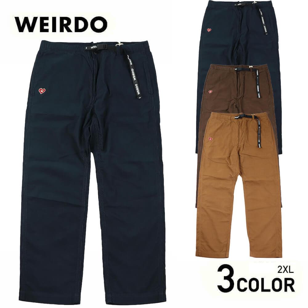2XL:ウィアード イージーパンツ メンズ WEIRDO - EASY PANTS GLADHAND グラッドハンド GANGSTERVILLE ギャングスタービル OLD CROW オールドクロウ