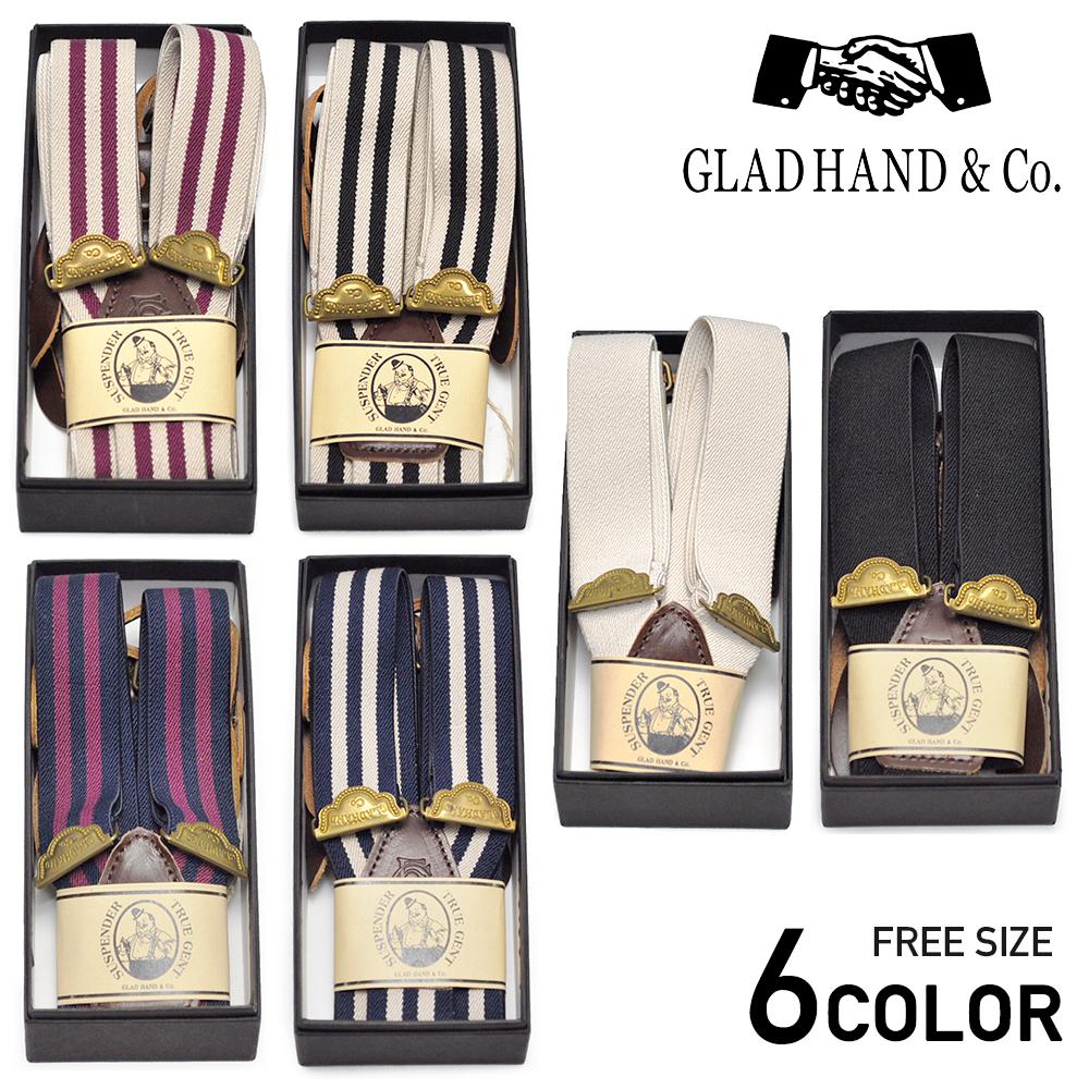 GLADHAND & Co. GH - SUSPENDER グラッドハンド サスペンダー/GANGSTERVILLE/ギャングスタービル/WEIRDO/ウィアード/OLD CROW/オールドクロウ