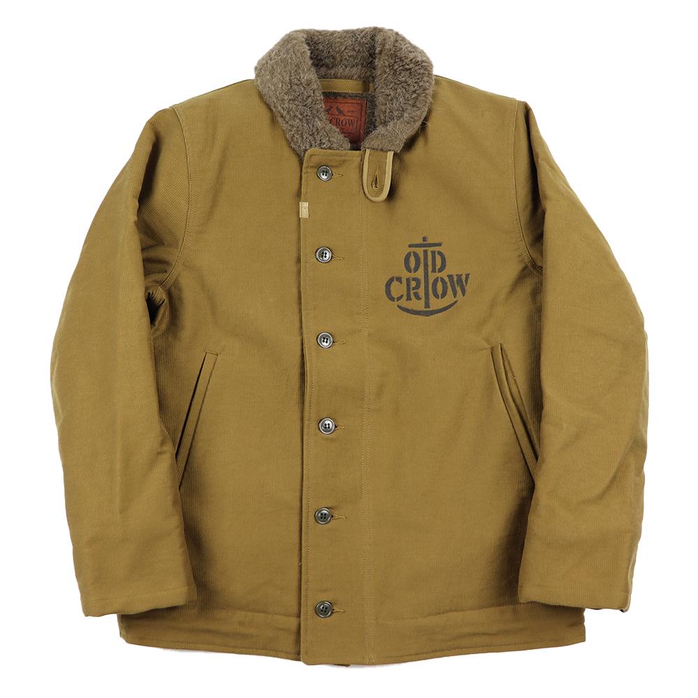 【残りS・XLサイズのみ】オールドクロウ デッキ ジャケット N-1 メンズ OLD CROW RUNABOUT - DECK JACKET GLADHAND グラッドハンド GANGSTERVILLE ギャングスタービル WEIRDO ウィアード