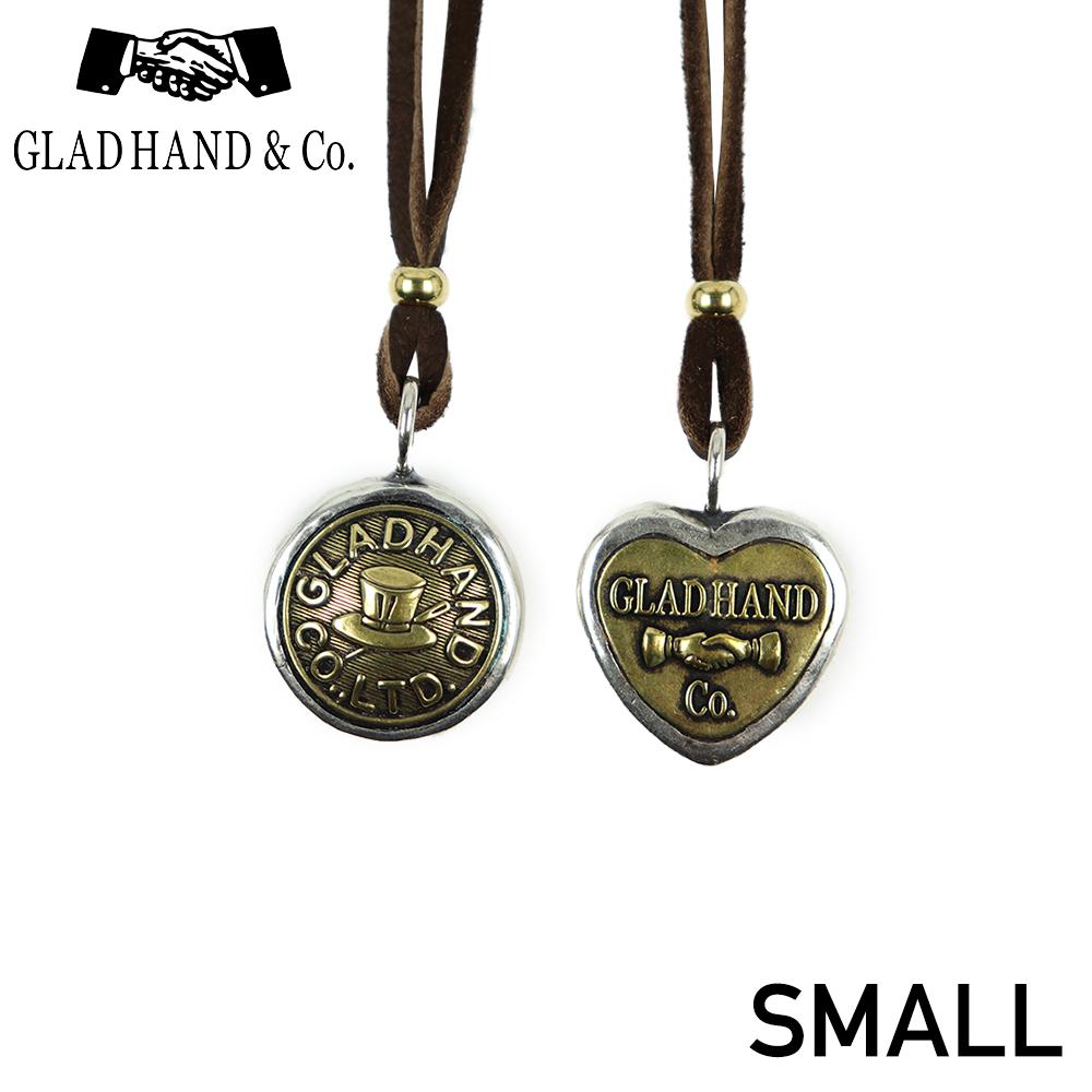 グラッドハンド ボタンチャーム ネックレス ペンダント スモール ハット ハート GLAD HAND & Co. BUTTON CHARM