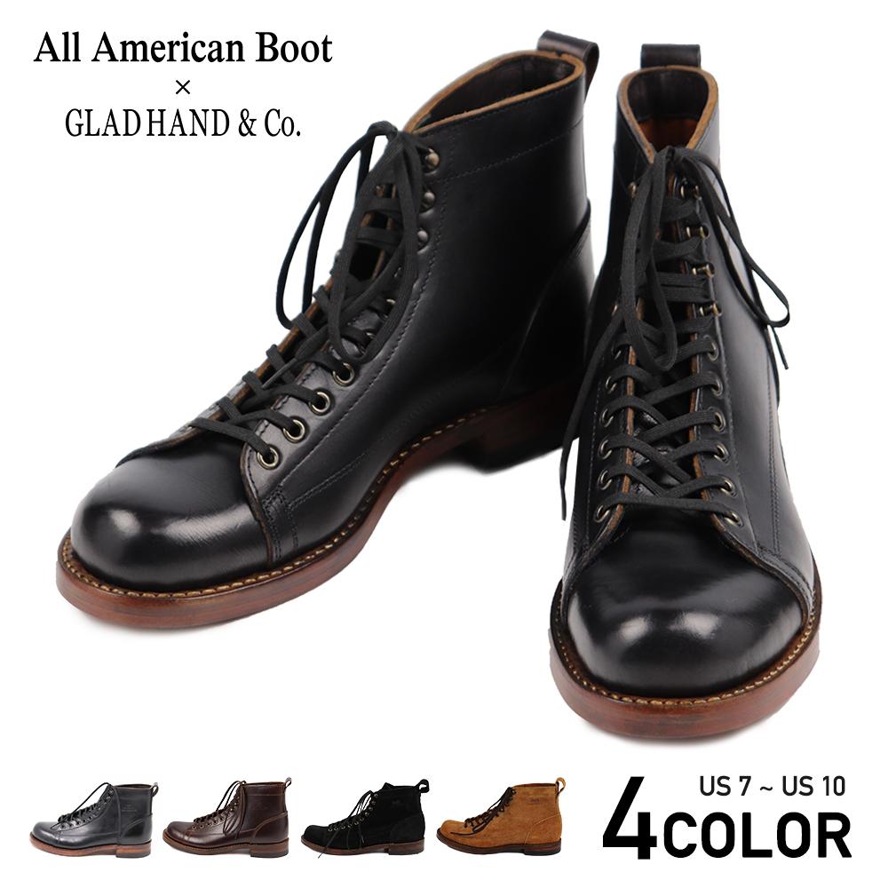 グラッドハンド モンキーブーツ メンズ オールアメリカンブーツ GLAD HAND & Co. USA BOOTS GH - WALKLINE All American BootsMfg., Inc. GANGSTERVILLE ギャングスタービル WEIRDO ウィアード OLD CROW オールドクロウ