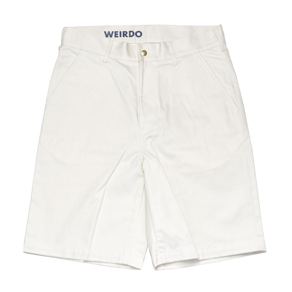 【残り30・36サイズのみ】WEIRDO W & L UP - SHORTS (IVORY) ウィアード リフトアップ ショーツ/ハーフパンツ/GLADHAND【GANGSTERVILLE/ギャングスタービル/OLD CROW/オールドクロウ】