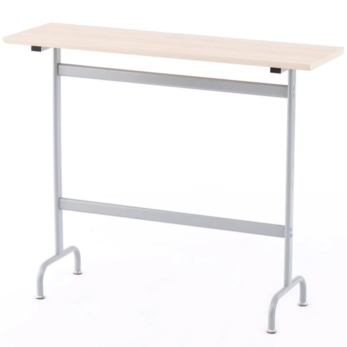 アールエフヤマカワ リフレッシュハイテーブル W1200×D400 ナチュラル RFRT-HT1240N