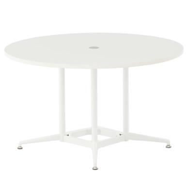 OAラウンドテーブル φ1200 ホワイト RFRDT-OA1200WL アールエフヤマカワ RFyamakawa 会議テーブル 会議用テーブル 商談 会議室 打ち合わせ 円形 丸型 リフレッシュテーブル