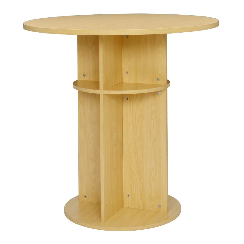 ラウンドハイテーブル φ1000 ナチュラル RFRHT-1000NA【送料無料】 アールエフヤマカワ RFyamakawa 机 丸 円型 高さ1000 カフェ スタンド