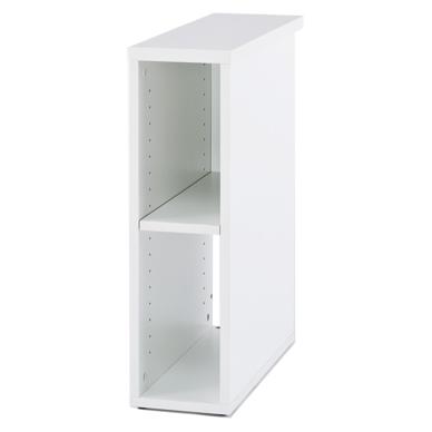 ノルム 隙間収納 W200 ホワイト Z-SHISD-2060WH アールエフヤマカワ RFyamakawa 隙間収納 デスク収納 隙間家具 書類収納 ファイル収納