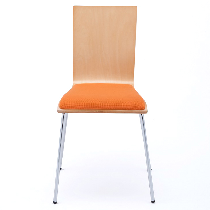 Plywood Chair Pads / Orange ( 4 Legs Into ) RFC FPOR Arlevyamakawa  RFyamakawa Chairs For Conference Chairs Conference Chair Chairs Meeting Chair  Chairs ...
