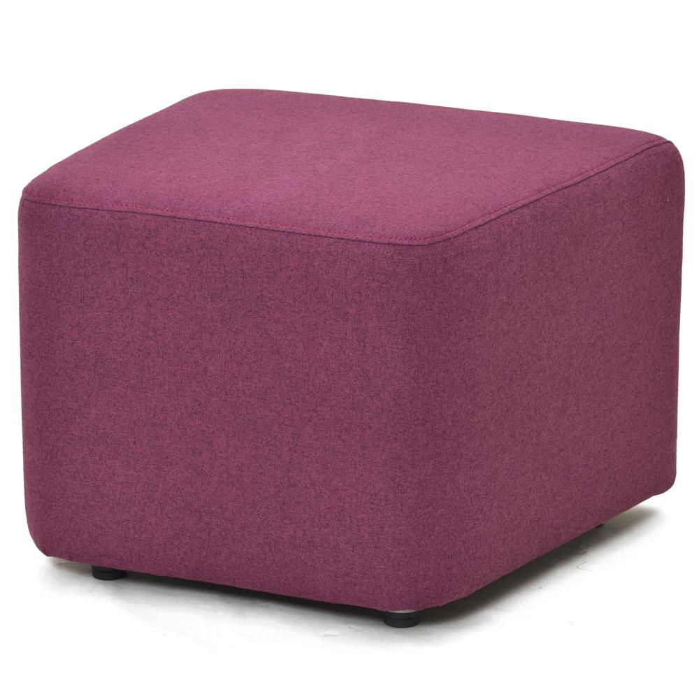 コロザ スツール ファブリック2 ローズ RFST2-JIFRS アールエフヤマカワ RFyamakawa 待合 椅子 台形 ベンチ 腰掛け