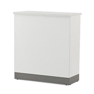 アールエフヤマカワ ノルム ハイカウンター W900xD450 ホワイト (本体のみ)Z-SHHC-900WH