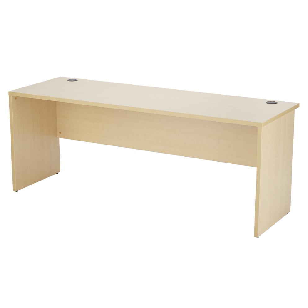 アールエフヤマカワ ノルム 木製デスク2 W1800xD600 ナチュラル RFPLD-1860NA2